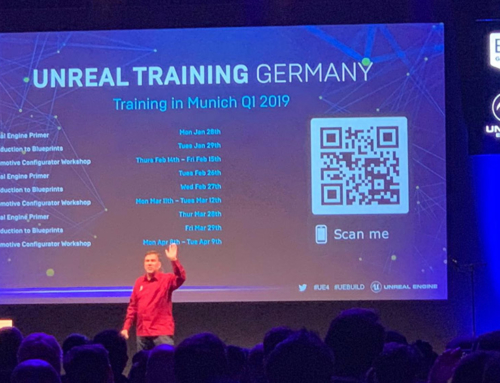 Unreal Trainings, powered by Unreal Engine Build:München'18 for Automotive